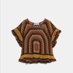 Limited Edition Crocheted Top